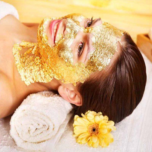 فروش ویژه ماسک ورقه ای طلا 24 عیار ایتالیایی manetti