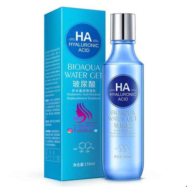 لوسیون اسید هیالورونیک مراقبت پوستی