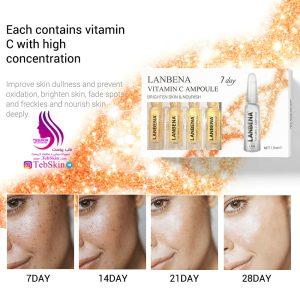 آمپول ویتامین c مراقبت پوستی