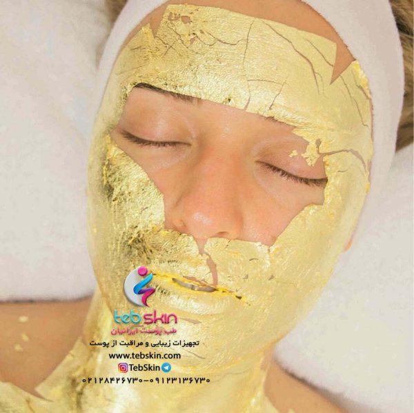 ماسک ورقه ای طلا 24 عیار ایتالیایی manetti