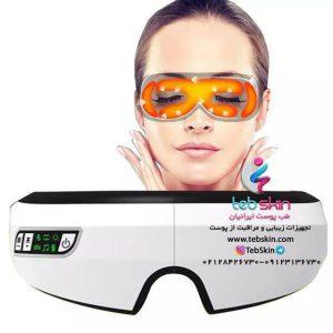 عینک ماساژور چشم موزیکال مدل Gh8