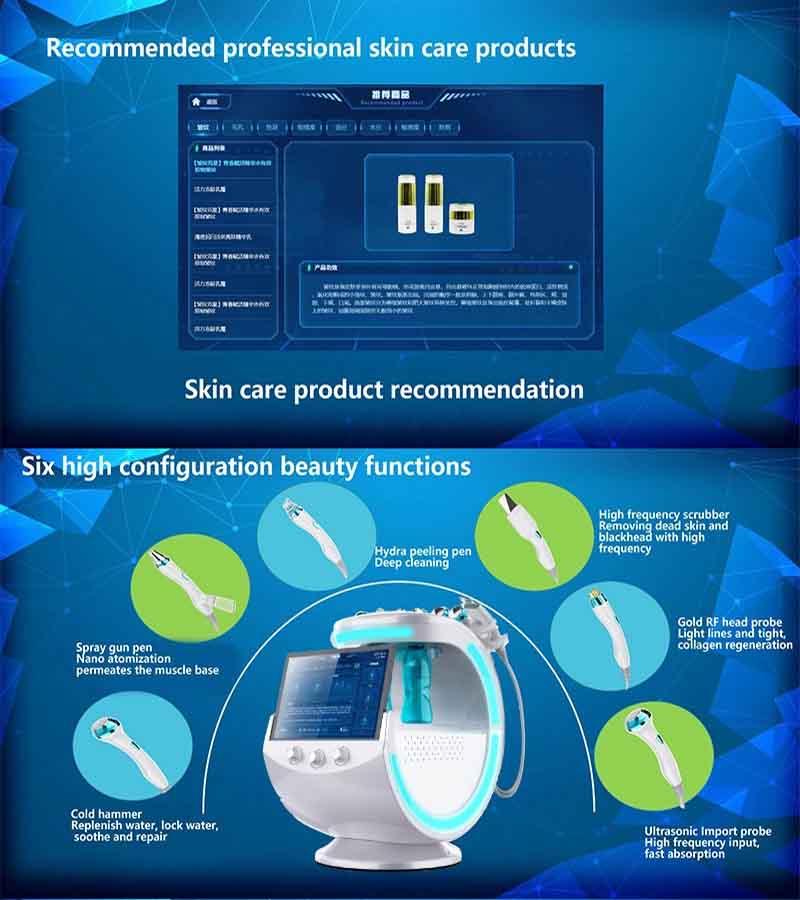 عملکرد دستگاه آنالیزو پوست جت اکسیژن 2020
