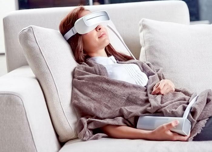 مزایای استفاده از عینک ماساژور چشم