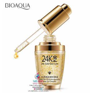 مشخصات قیمت و خرید ماسک طلای 24 عیار بیوآکوا Bioaqua